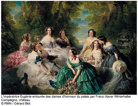 Impératrice Eugénie et ses dames