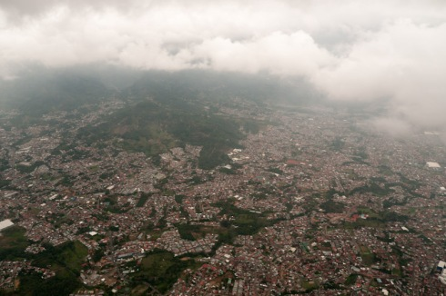 San José from a bird's-eye view