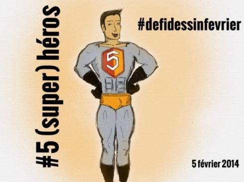 #defidessinfevrier jour 5, un (super) héros