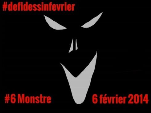 #defidessinfevrier jour 6, monstre