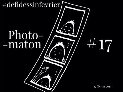 #defidessinfevrier jour 17, photomaton