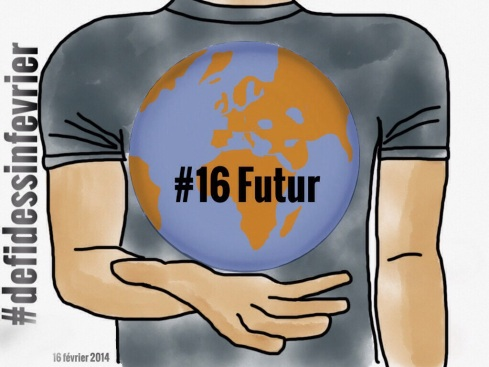 #defidessinfevrier jour 16, futur