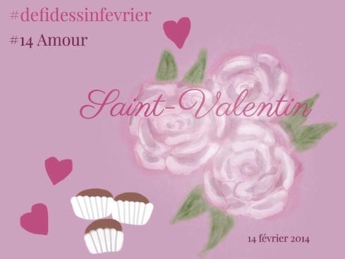 #defidessinfevrier jour 14, amour