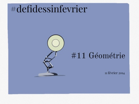 #defidessinfevrier jour 11, géométrie