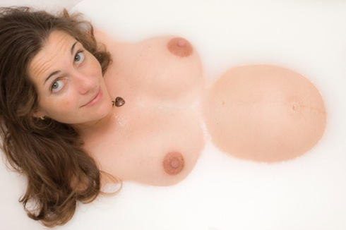 22 novembre 2007, bain de lait